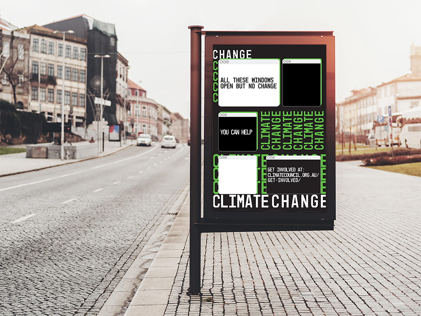 The Climate Council - Interactive Campaign Poster