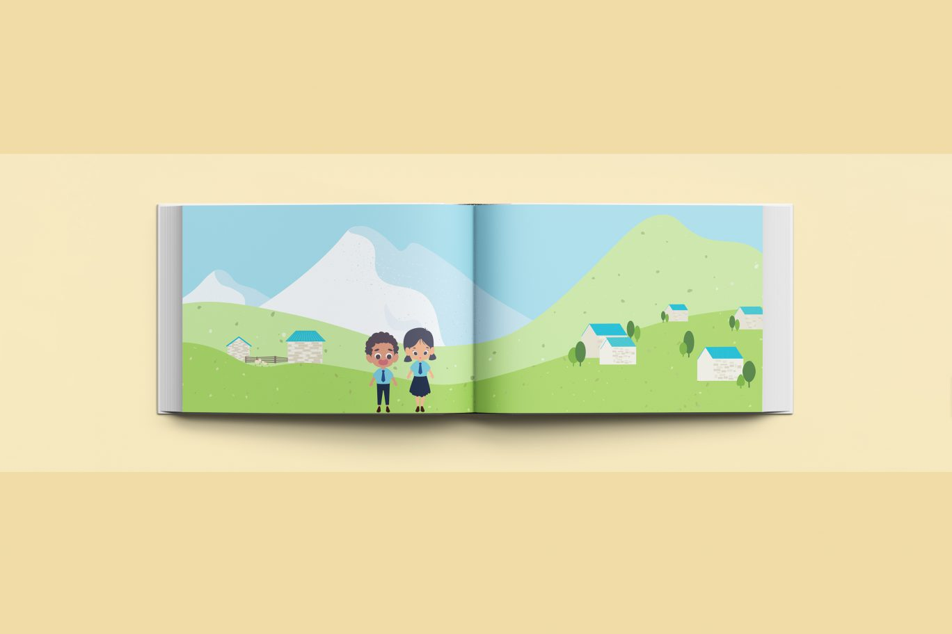 Illustration Book - Wash Wash Wash