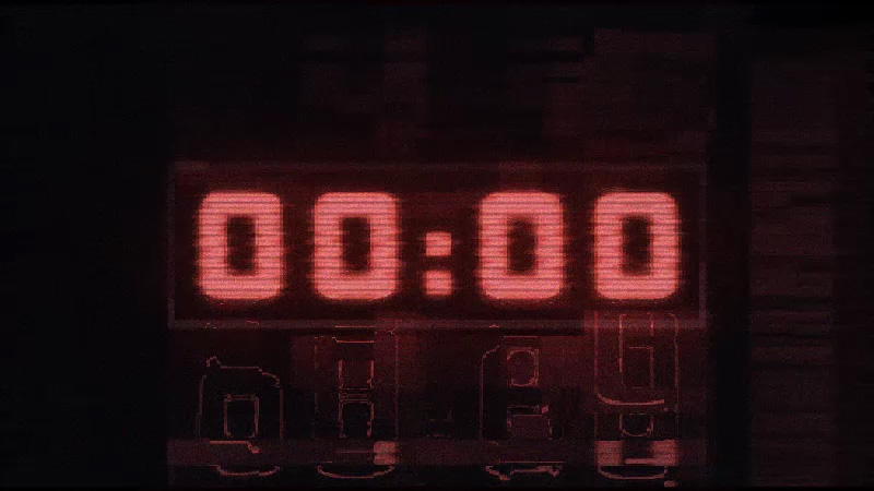 Countdown Timer Motion Graphic