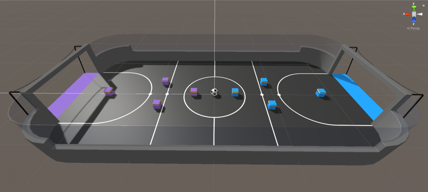 Soccer Game Simulation