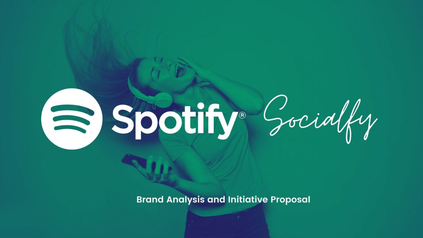 Spotify Brand Analysis and Initiative Proposal