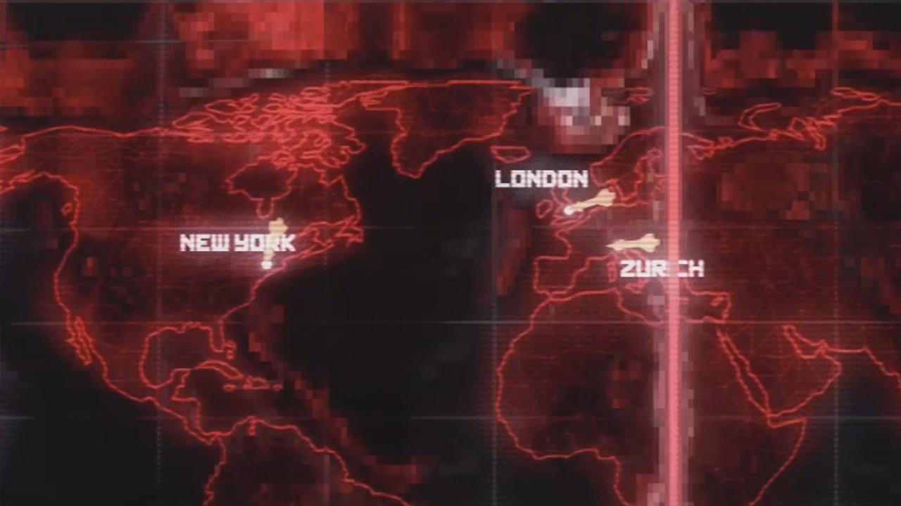 World Map Motion Graphic
