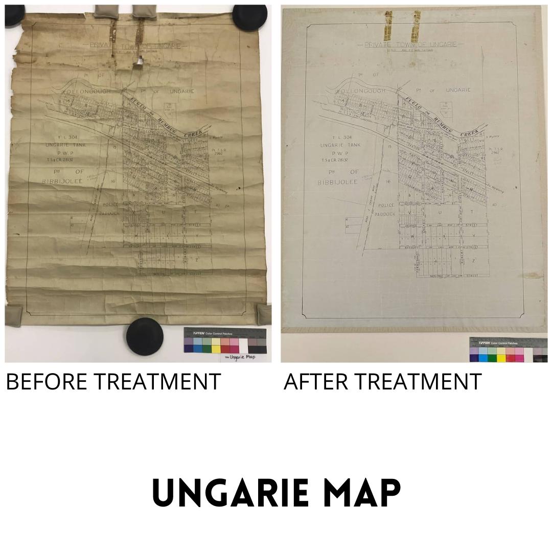 Ungarie Map Treatment
